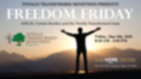 Freedom Friday is May 8th!