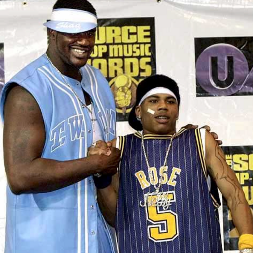 Shaquille O'Neal and Nelly