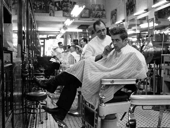 James-Dean at the Barbershop