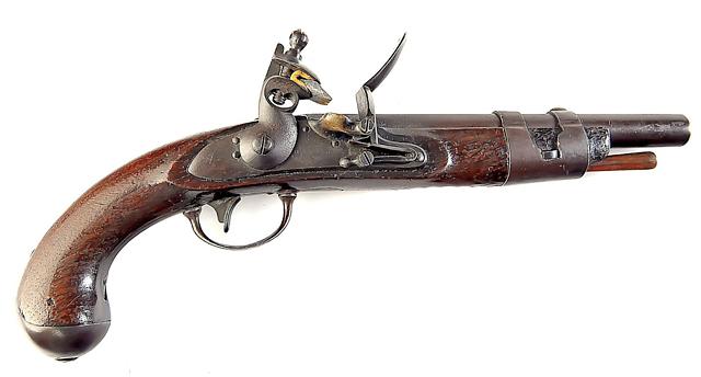 1816 Flintlock Pistol