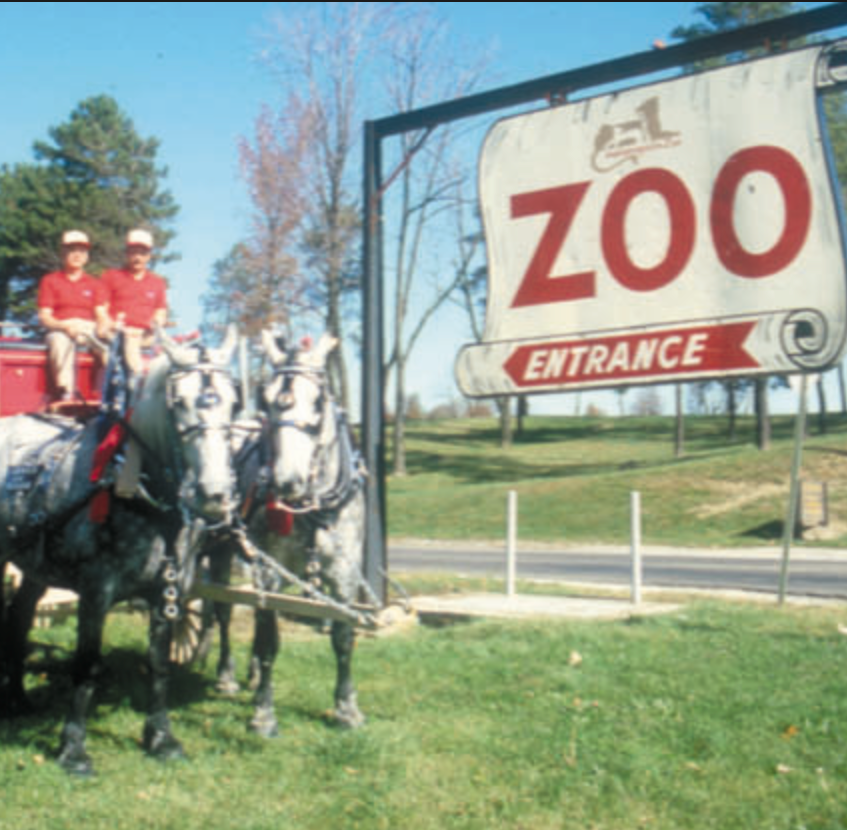 Washington Park Zoo Entrance