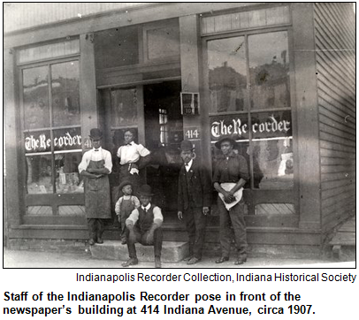 Indianapolis Recorder Staff