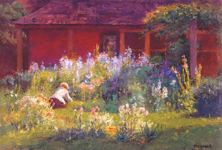 Selma In The Garden