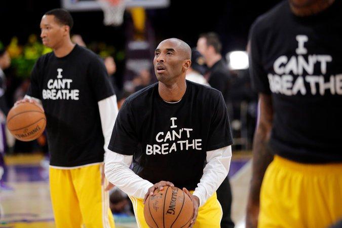"""Kobe """"I Can't Breathe"""""""