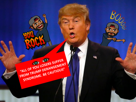 Trump Derangement Syndrome (TDS) is REAL