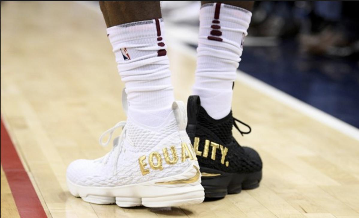Lebron's Equality Shoes