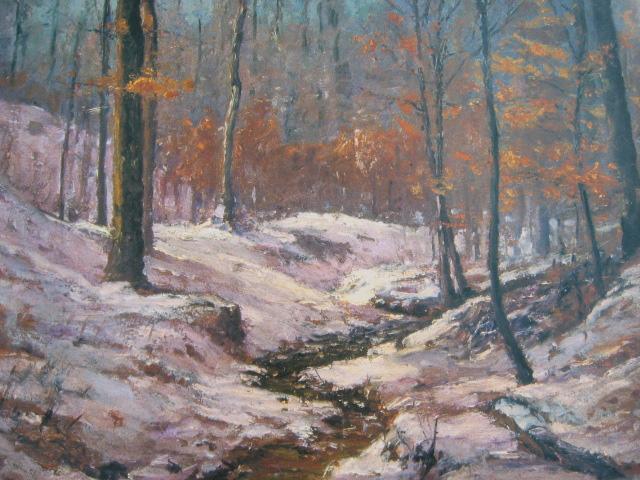Winter in the Ravine