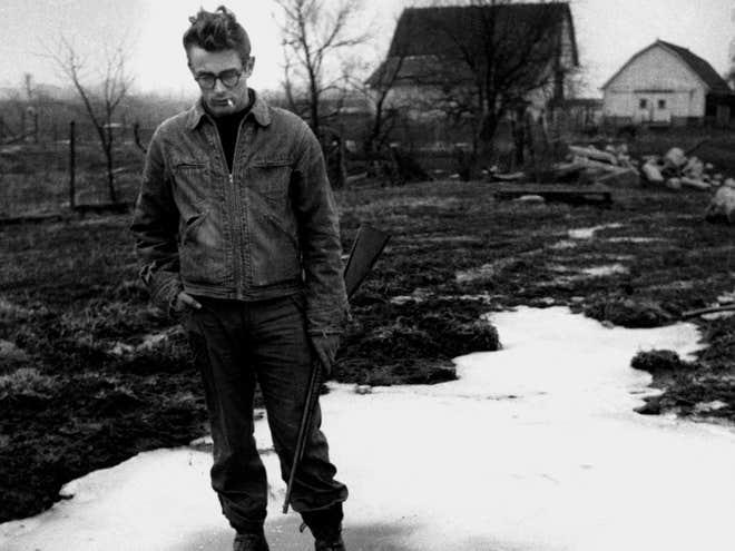 James Dean on the Farm