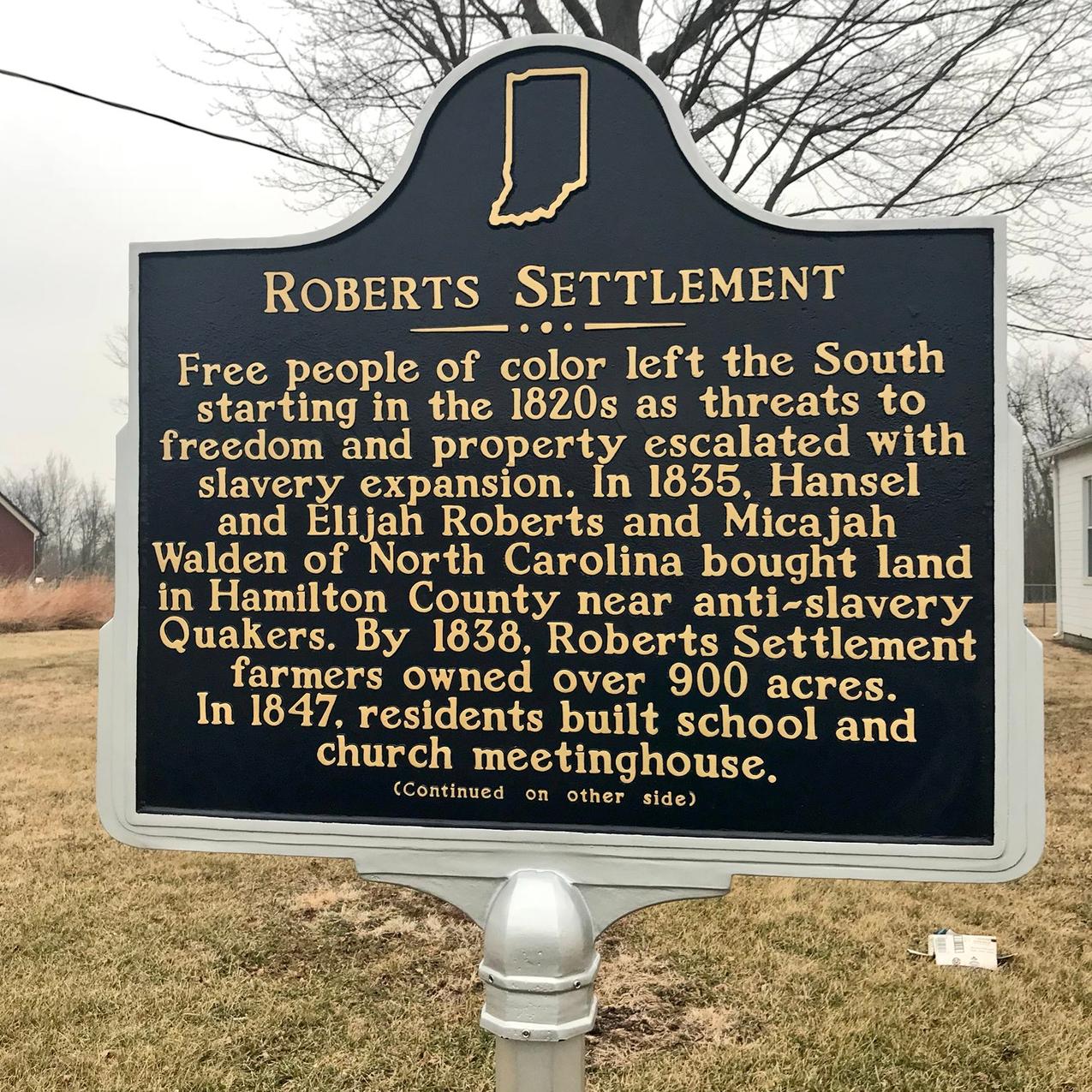 Roberts Settlement
