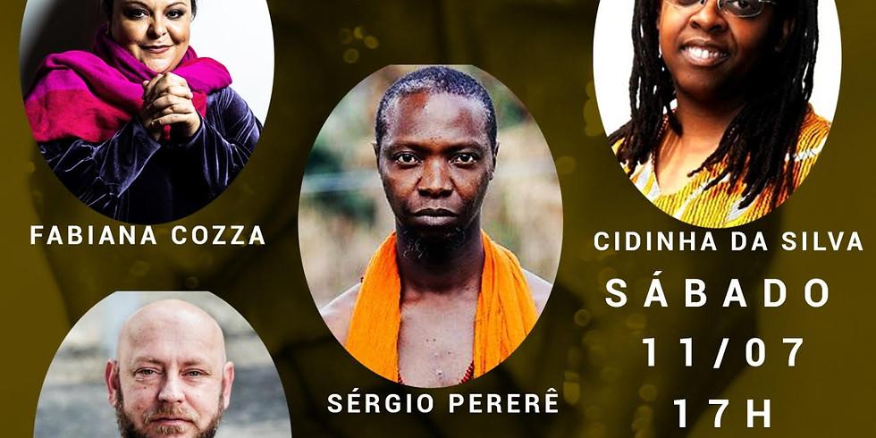 LIVE - Bravum de Elegbara - Fabiana Cozza conversa com Cidinha da Silva, Luiz Antonio Simas e Sérgio Pererê