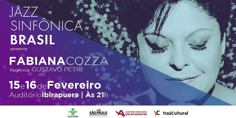 Jazz Sinfônica Brasil convida Fabiana Cozza