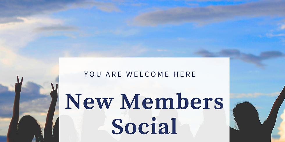 New Member's Social