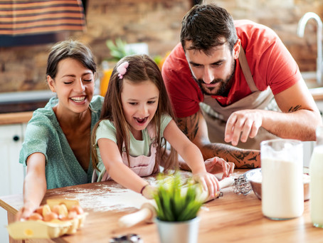 Fun and Healthy Snack Ideas while at Home with the Kids