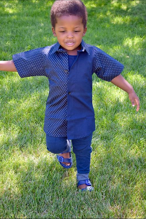Boys Mayowa Button Down Shirt