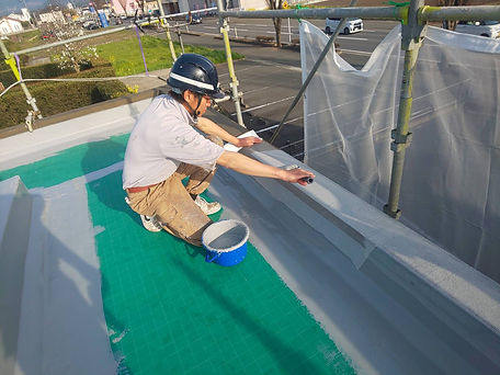 屋上防水工事④