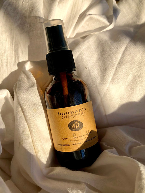Rose and Lavender Facial Mist