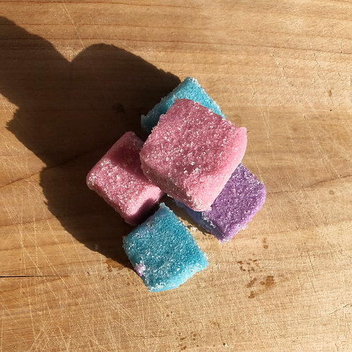 Wild Berry + Tulip Sugar Cube Scrub