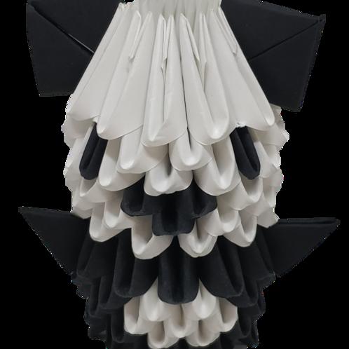 Kit Origami 3D - Panda