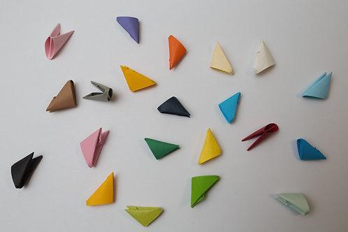 Pièces Origami 3D