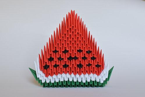 Kit Origami 3D - Pastèque