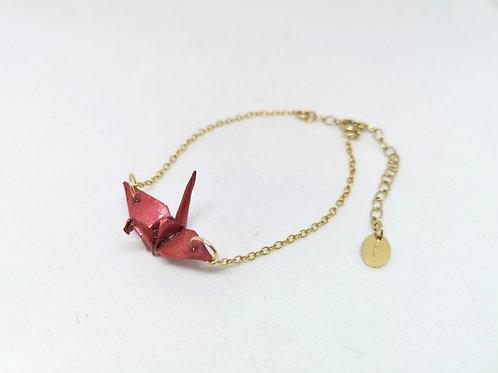 Bracelet Grue - Gold Filled 14 Carats