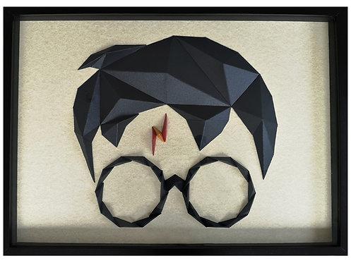 Tableau Vitrine - Harry Potter