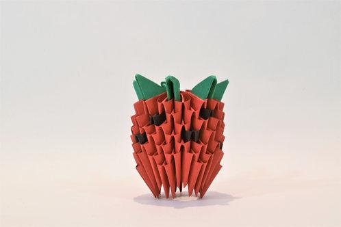 Kit Origami 3D - Fraise