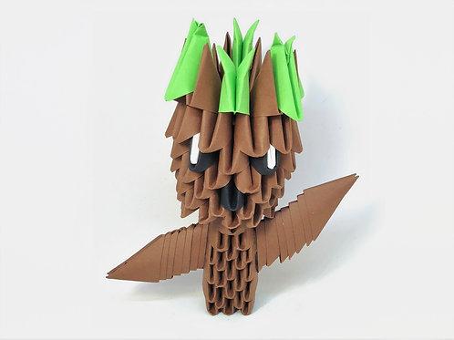 Kit Origami 3D - Baby Groot