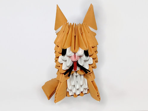 Kit Origami 3D - Chat