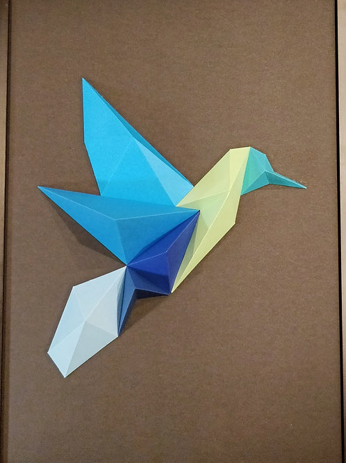 Tableau 50x70cm - Colibri