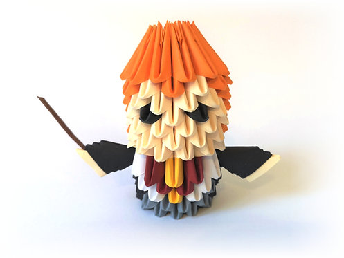 Kit Origami 3D - Ron Weasley