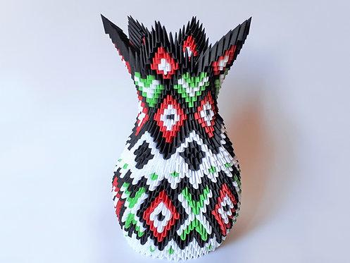 Kit Origami 3D - Vase Inca