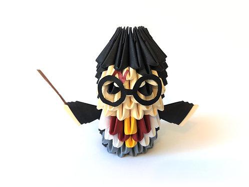 Kit Origami 3D - Harry Potter