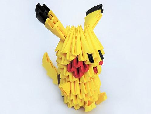 Kit Origami 3D - Pikachu
