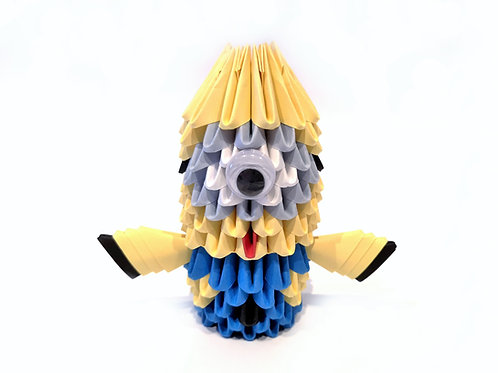 Kit Origami 3D - Stuart Minion