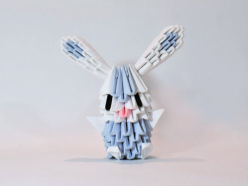 Kit Origami 3D - Lapin