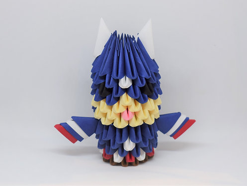 Kit Origami 3D - Captain America