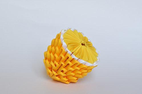 Kit Origami 3D - Citron