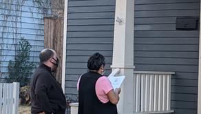 Heights Tenants Without Water Deliver Demands to Landlord's Doorstep