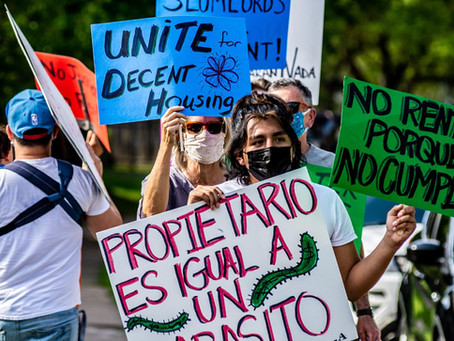 VICTORY! Villas del Paseo Tenants Win after 2 months of Rent Strike
