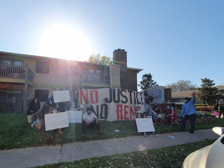 No Justice, No Rent! Rent Strike Continues After Water Returns