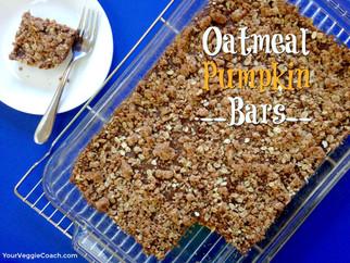 Oatmeal Pumpkin Bars