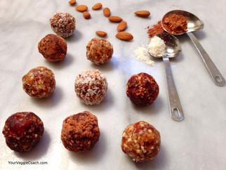 Mint Cocoa & Coconut Cream Truffles