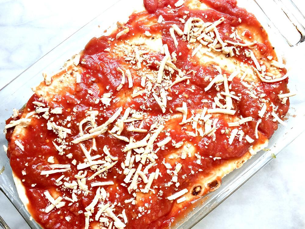 Easy Cheesy Mexican Lasagna