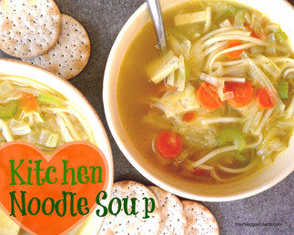 Kitchen (Not Chicken) Noodle Soup