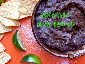 Green Chile-Black Bean Dip