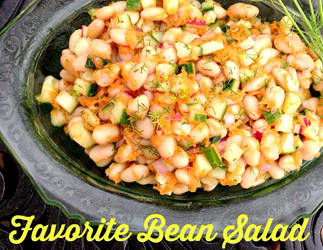 (Packable, Adaptable) Favorite Bean Salad