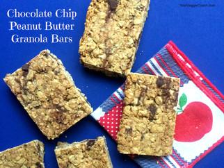 Chocolate Chip Peanut Butter Granola Bars
