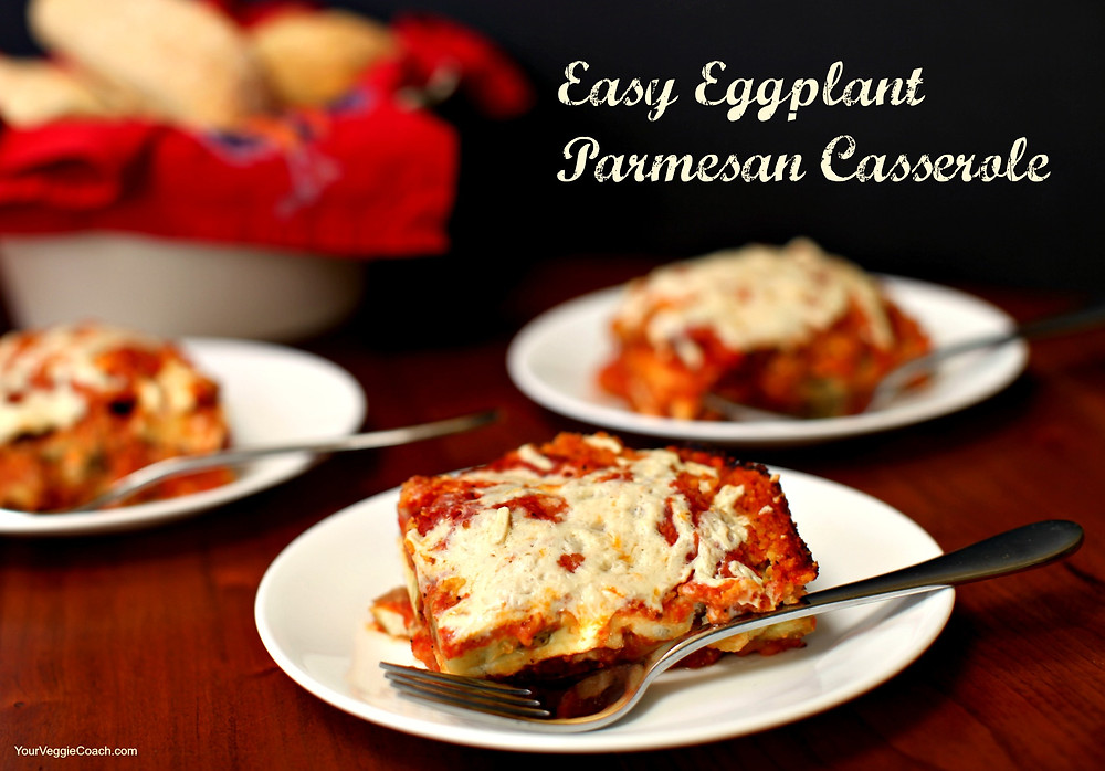 Easy Eggplant Parmesan Casserole