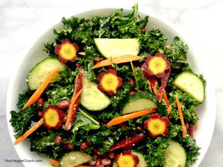 Anti-Cancer Massaged Kale Salad